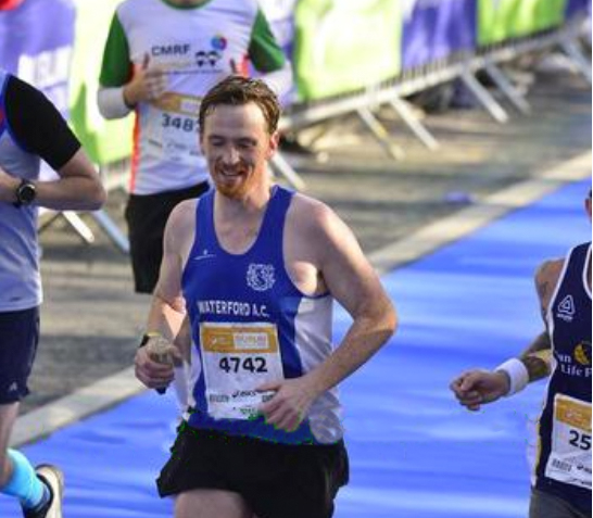 smiling, relaxed, having the 'chats' is not how one should be finishing a marathon